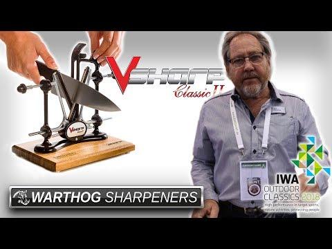 Messerschärfer Warthog VSharpClassicII Auf Der IWA 2018
