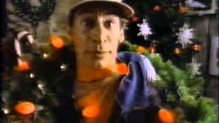 Ernest Jim Varney in promo for Ernest Saves Christmas 1988