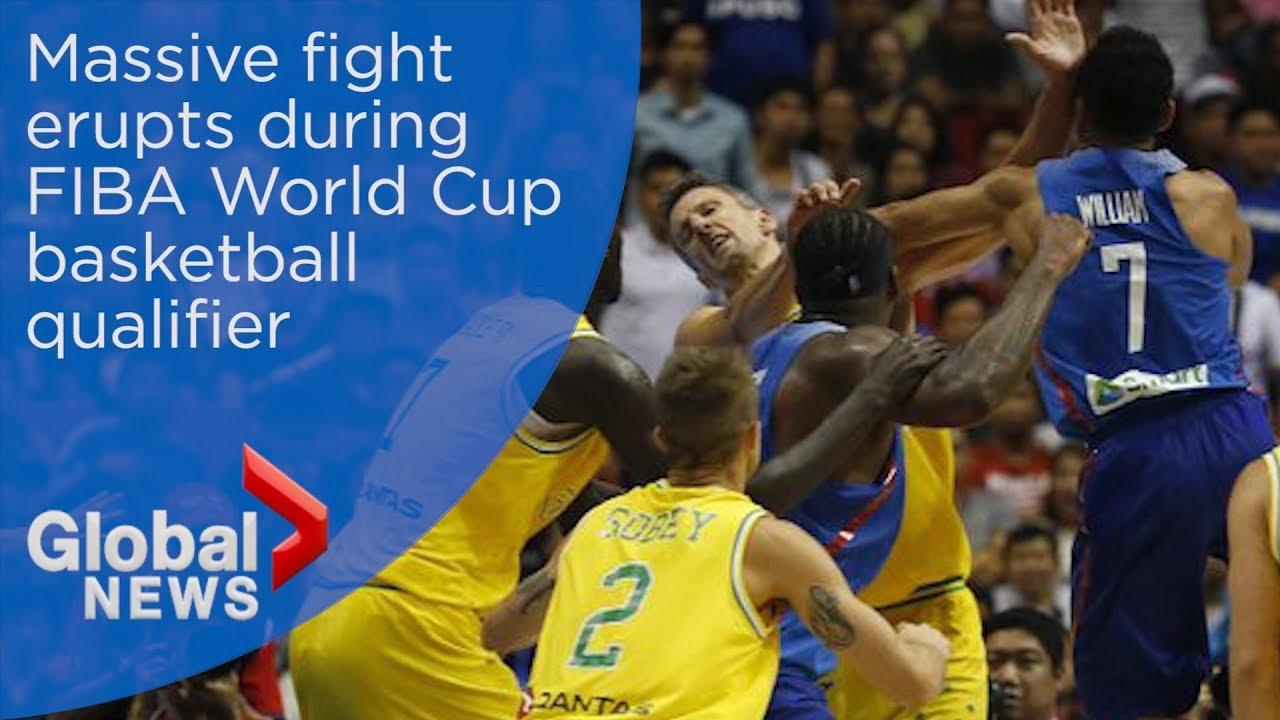 Insane brawl mars Australia-Philippines FIBA basketball game - YouTube 7e2e08f08