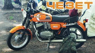 Легендарные мотоциклы Cezet 350 Typ 472.5 &  472.6 / Видео