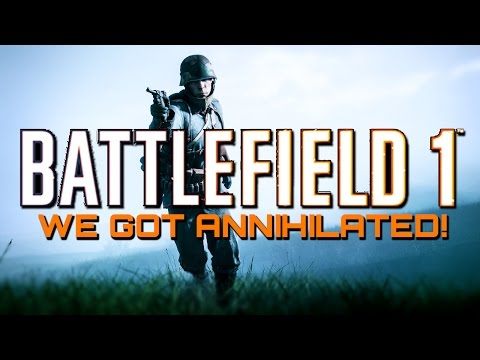 Battlefield 1: We Got Annihilated! 51 Kills with the Madsen LMG! (PS4 PRO Multiplayer Gameplay)