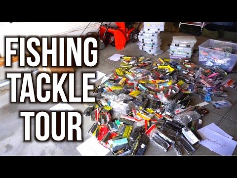 TACKLE ORGANIZATION DAY! -  All My Bass Fishing Gear 2016