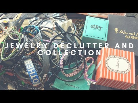 JEWELRY DECLUTTER PURGE AND COLLECTION!
