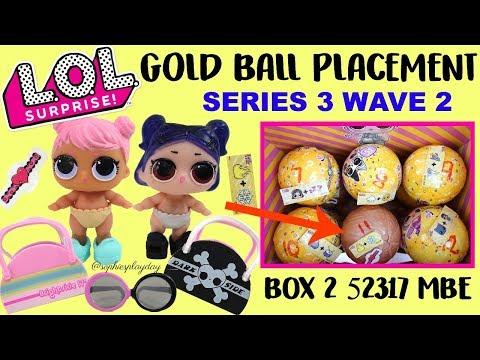 LOL Surprise Confeti Pop Wave 2 Gold Ball Placement TWINS lil Dusk and lil dawn Secret clue Hack