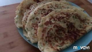 Сырные блины с зеленью🥞. Göyertili pendirli blinçikler.🥞 Yeşillikli peynirli krep🥞