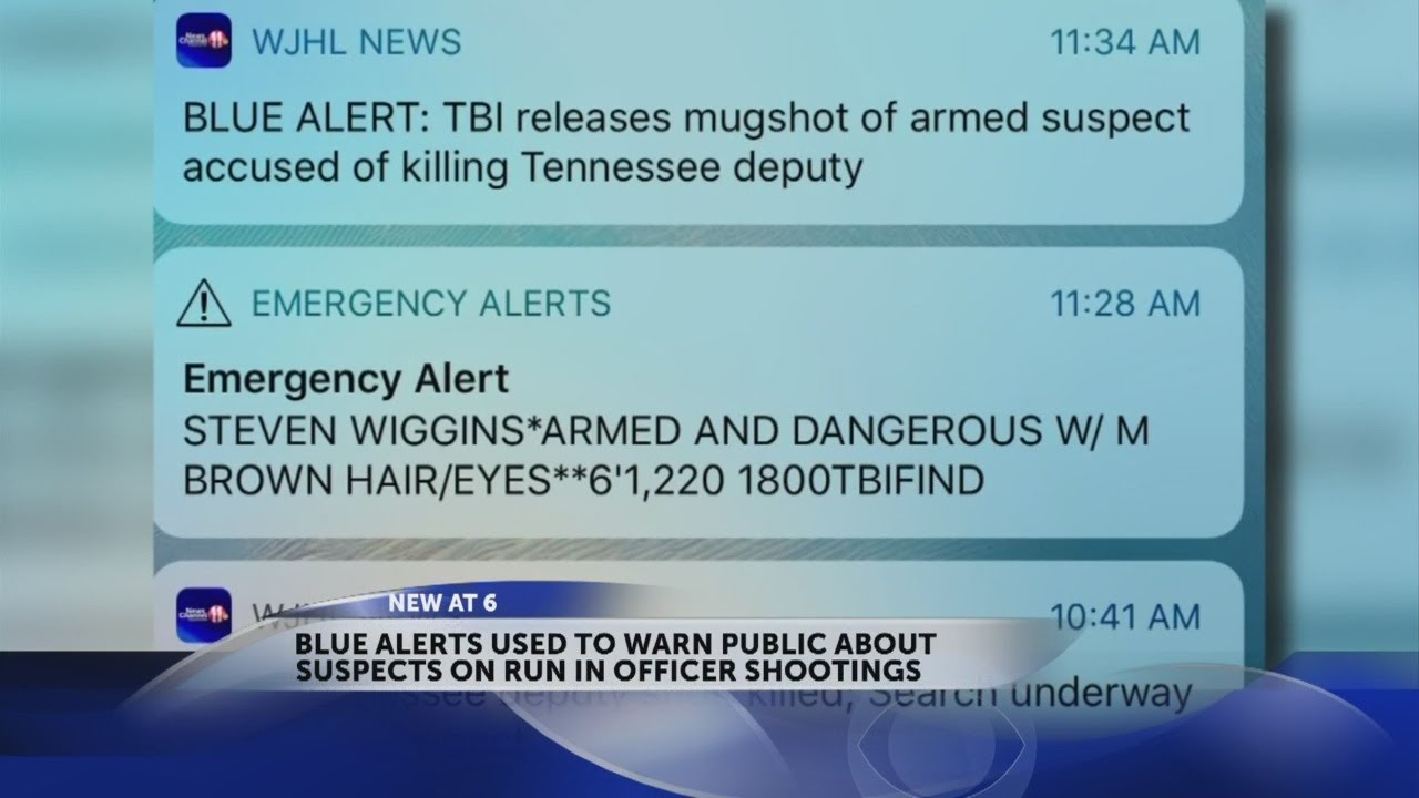 What is a Blue Alert and why did my phone just go off?