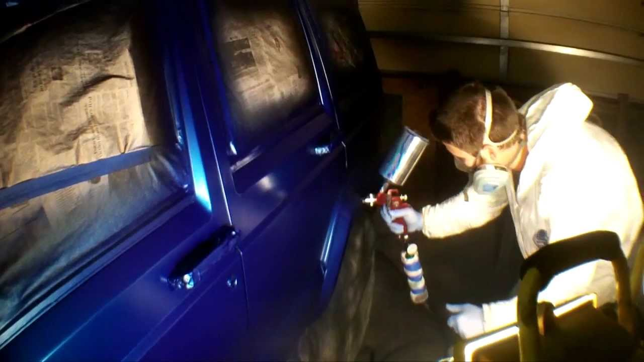 1996 Jeep Cherokee Fresh Paint Royal Blue Metallic