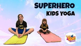 Fun Superhero Yoga for Kids & Toddlers | Fun Kids Videos