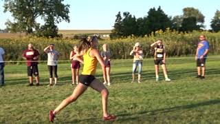 ADRIANNA KATCHER OF CPU BROKE HER OWN MEET RECORD AT STARMONT WITH A TIME OF 19:16!!
