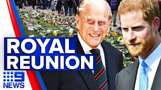 Royal family open up about Prince Philip's death | 9 News Australia