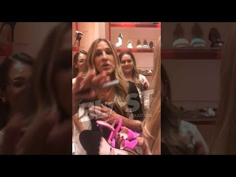 Sarah Jessica Parker Shuts Down a 14Year Old for Filming Her at Shoe Event