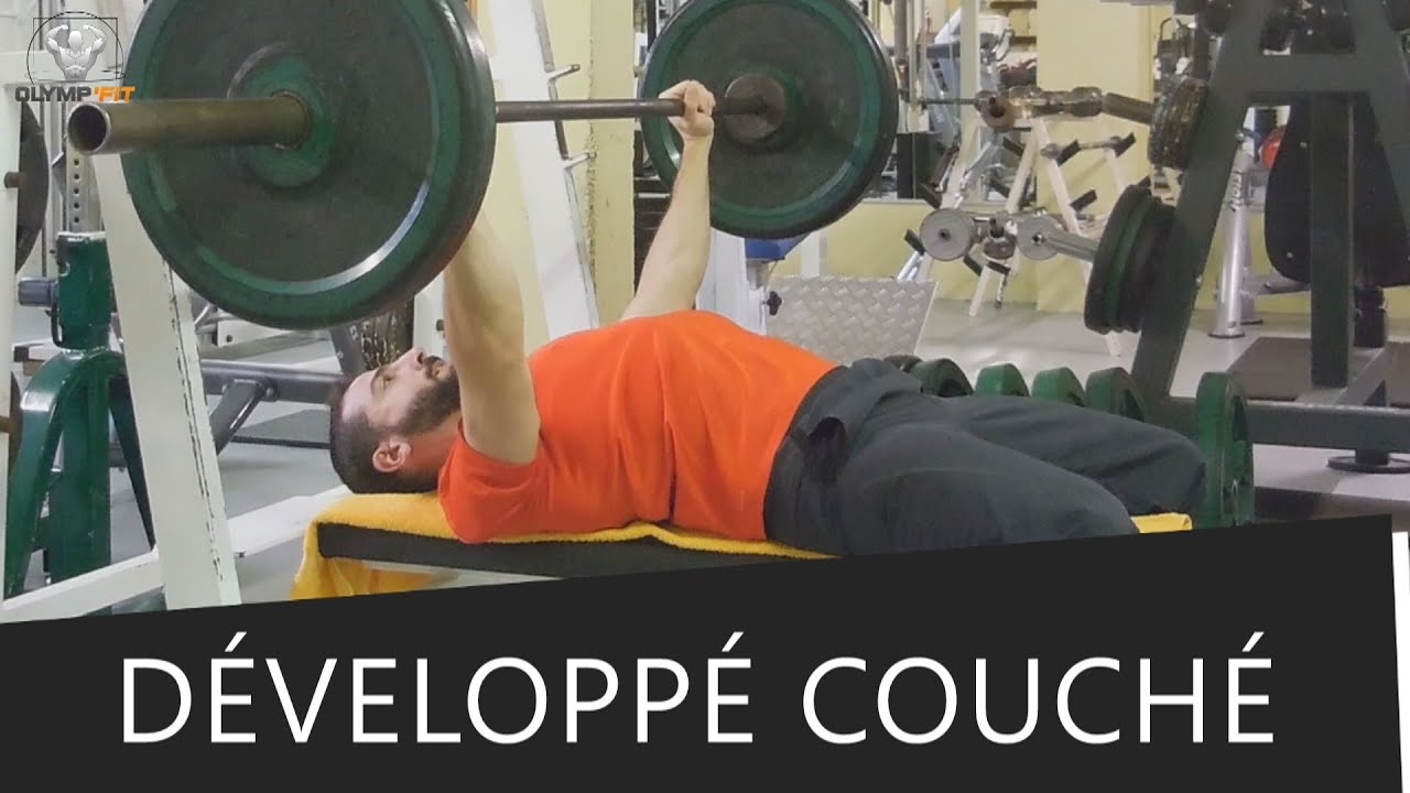 D velopp couch technique erreurs a eviter - Pectoraux developpe couche ...