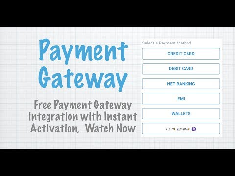 Free Payment Gateway Integration | Accept Payment Online