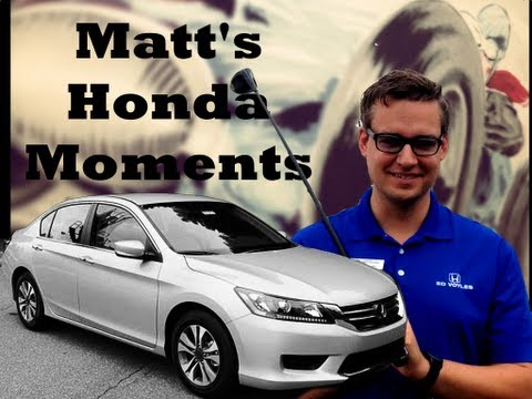 Matt's Honda Moments- How to Check Your Oil Life