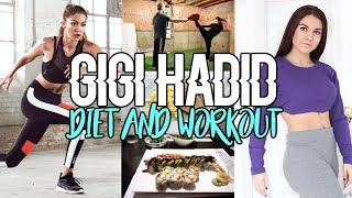 Trying Gigi Hadid Diet & Workout !!