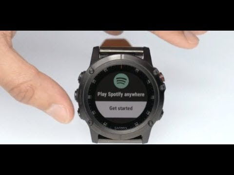 Support: Setting Up Spotify® on a Garmin Watch