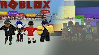 Arrepiante com a gangue em Roblox