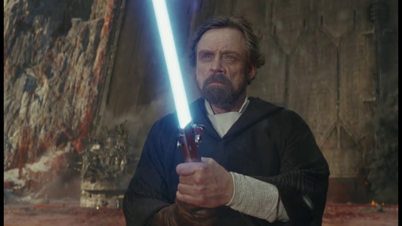 Mark Hamill as Luke Skywalker in Star Wars The Last Jedi I almost had to think of Luke as another character Hamill said in a pressjunket video