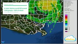 Hurricane Katrina Radar Recap