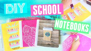 DIY Notebooks For School! Back To School Supplies 2015