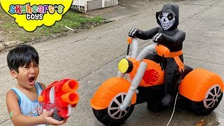Our Uber Driver is GHOST RIDER!!