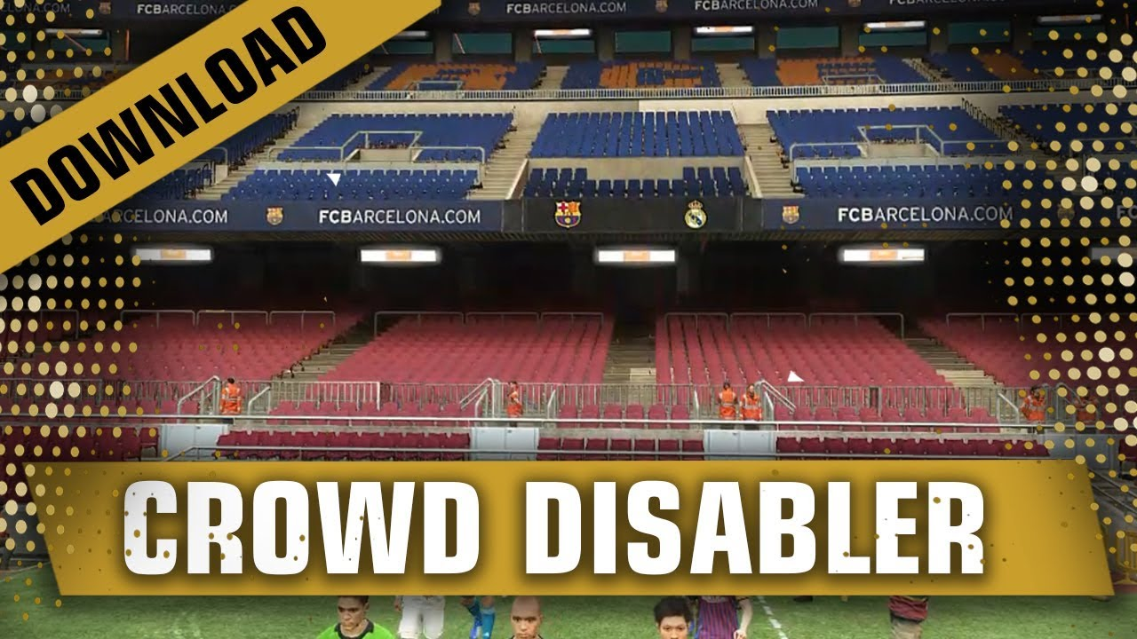 PES 2019 No Crowd Fix LAG ( Download and Install )