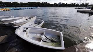 Unwetter Münster - Sturmtief Sebastian wütet über den Aasee