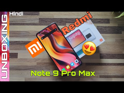 Redmi Note 9 pro max (Interstellar Black) Unboxing and Overview Pros & Cons
