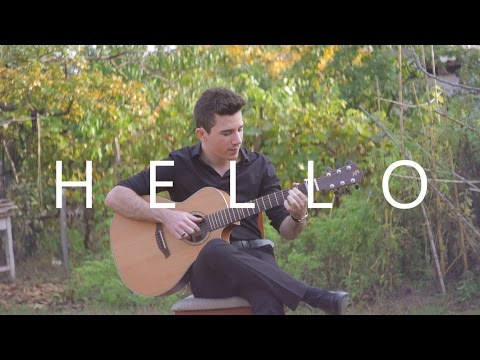 Hello - Adele (fingerstyle guitar cover by Peter Gergely)