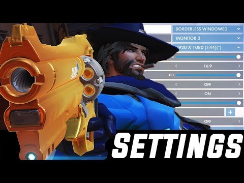 Best Overwatch Pro Settings, Sensitivity, Keybinds (August 2019)