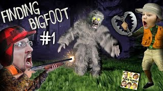 FINDING BIGFOOT GAME!  Caught on Tape by FGTEEV!  Mission: Catch & Trap!! FUNNY GAMEPLAY! #1 - FGTeeV