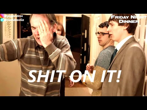 Martin Shit On It! | Friday Night Dinner Season 1 To 6 [Find Out Many Shit On It's there are]