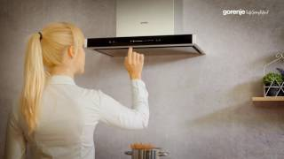 Gorenje Hood Tips&Tricks: How to operate the hood with sliding control