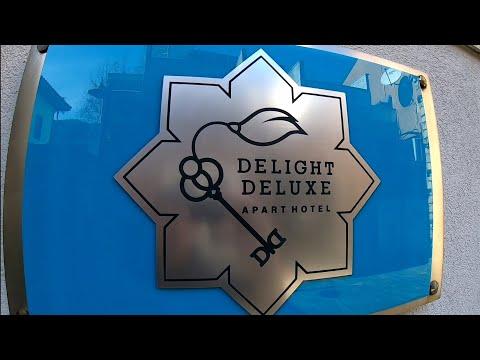 Мини-обзор на апарт отель OTIUM BOUTIQUE DELIGHT HOTEL(Delight Deluxe Apart Hotel)