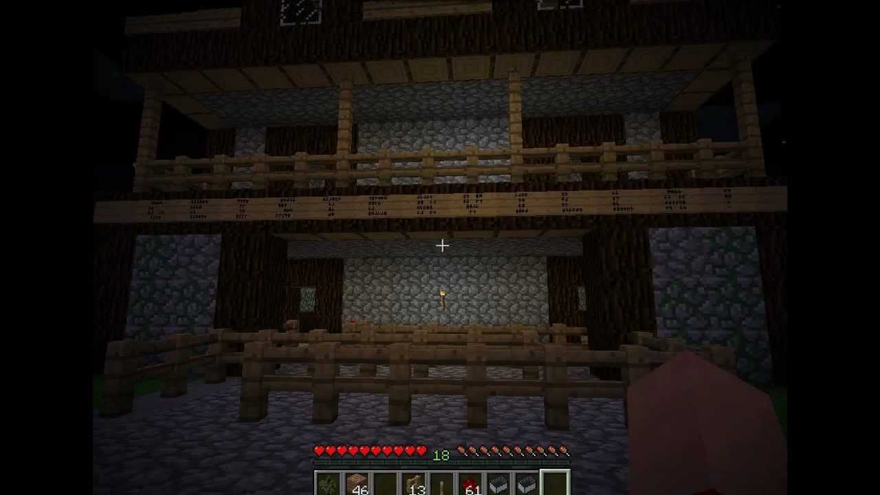 minecraft haunted house ride realistic amusement park