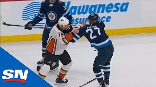 Nikolaj Ehlers Fights Ryan Getzlaf After Taking Exception To Cross-Check