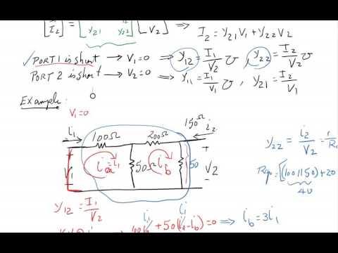 Introduction To Two Port Network  Circuit & System  B.Tech  3rd sem  Lect 11из YouTube · Длительность: 7 мин47 с