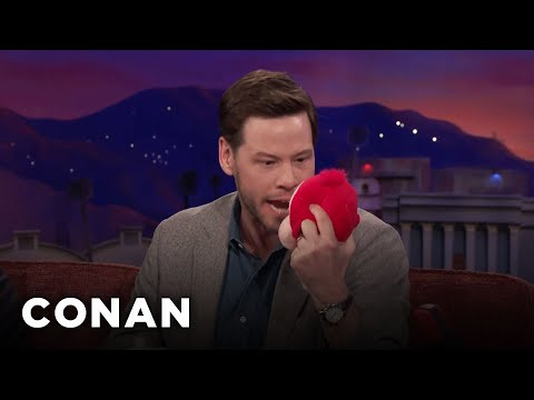 Ike Barinholtz Kills His Daughter's Singing Monkey  - CONAN on TBS