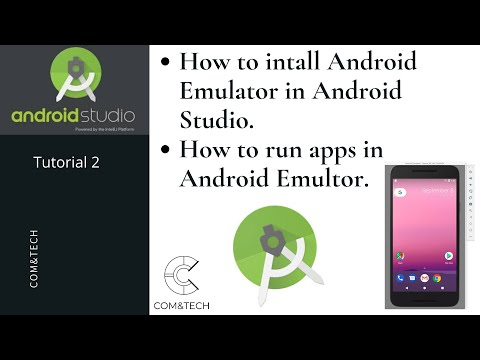 How To Create Android Virtual Device Emulator For Android Studio