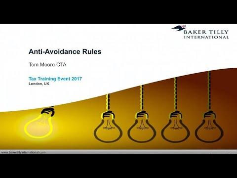 Baker Tilly International - International Corporate Taxation - Anti-Avoidance Rules