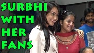 Qubool Hai : Zoya aka Surbhi Jyoti spends her time with her fans