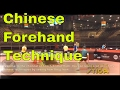 Chinese Forehand Technique (Demonstrated by Zhang Jike and Fan Zhendong)