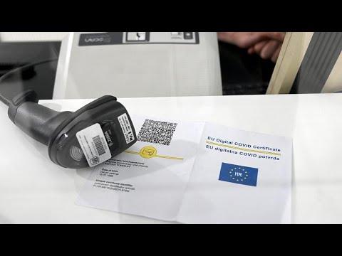 قادة الاتحاد الأوروبي يوقّعون على اللوائح المنظّمة لـ-شهادة الاتحاد الأوروبي الرقمية لكوفيد-19-…  - 14:55-2021 / 6 / 14