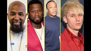 Rappers And Celebs (MGK, 50 Cent,Tech N9ne etc) Reaction Eminem New 'Music to Be Murdered By' Album