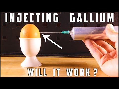 Making Gallium Egg with real Chicken Egg