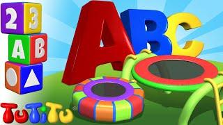 TuTiTu Preschool | Trampoline | Learning the Alphabet with TuTiTu ABC