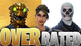 OVERRATED Skins in Fortnite! (you love #4)