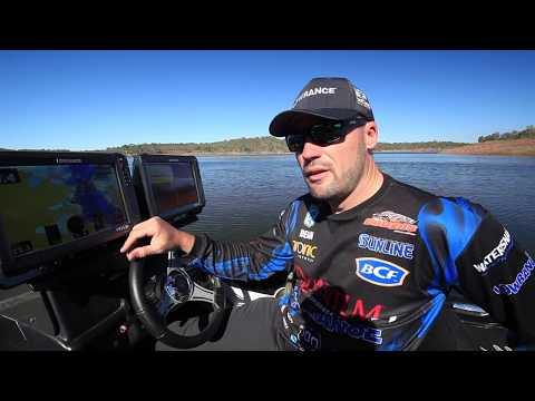Dean Silvester Talks about using Waypoints on the Lowrance HDS Carbon