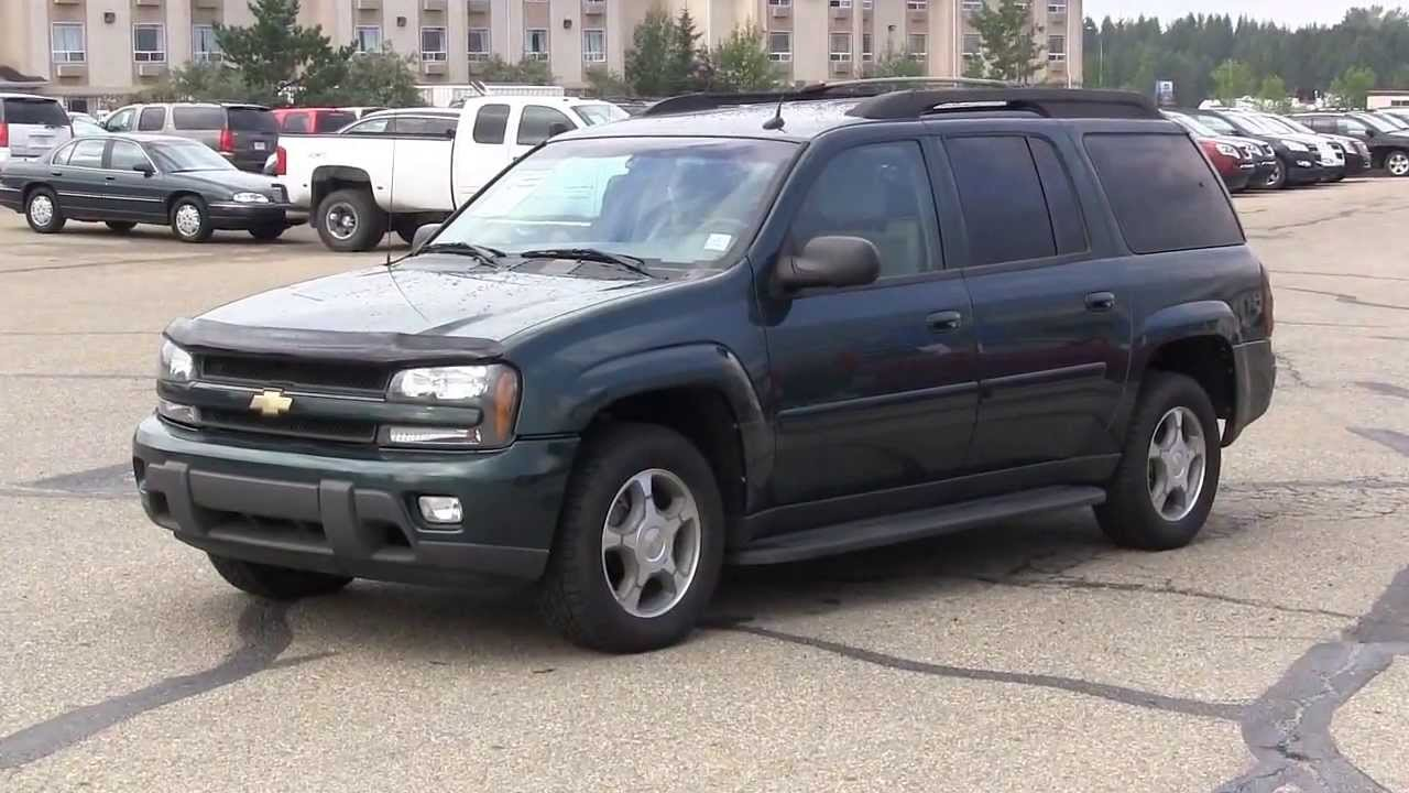 2005 CHEVROLET TRAILBLAZER EXT LS 4 by 4 - YouTube