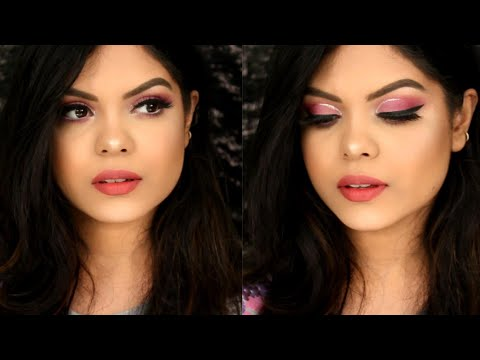 QUICK & EASY GLAM NEW YEARS EVE MAKEUP TUTORIAL | KOLKATA INDIA